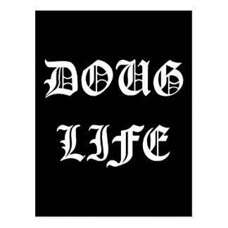 ダグの生命(白い) ポストカード