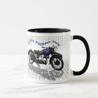 ダグラスのオートバイのマグ マグカップ