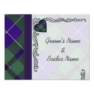 ダグラスのスコットランド人のタータンチェック カード