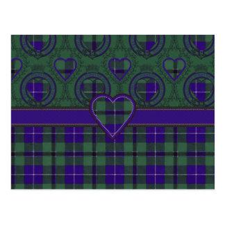 ダグラスのスコットランド人のタータンチェック ポストカード