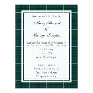 ダグラスのスコットランド人の結婚式招待状 16.5 X 22.2 インビテーションカード