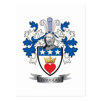 ダグラスの家紋の紋章付き外衣 ポストカード