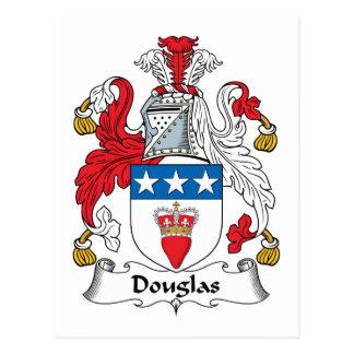 ダグラスの家紋 ポストカード