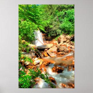 ダグラスの滝、ウェストヴァージニア ポスター