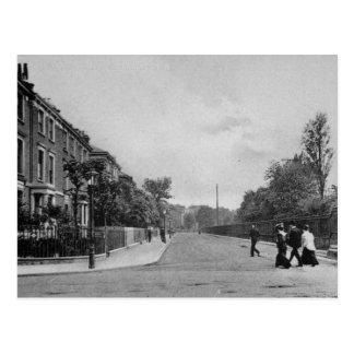 ダグラスの道、Canonbury、Islington、c.1905 ポストカード
