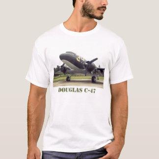 ダグラスのC-47の人のTシャツ Tシャツ