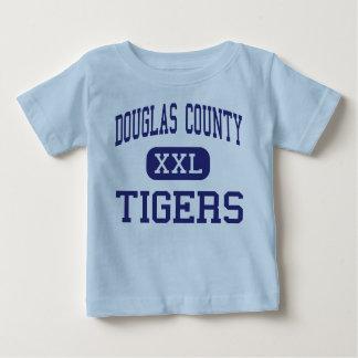 ダグラス郡-トラ-高Douglasville ベビーTシャツ