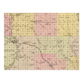 ダグラス郡、ネブラスカ ポストカード