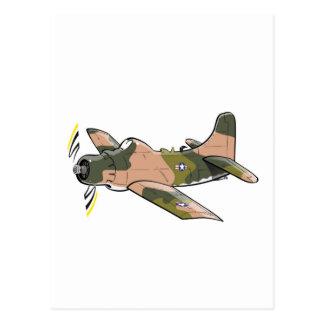 ダグラスa-1のskyraider ポストカード