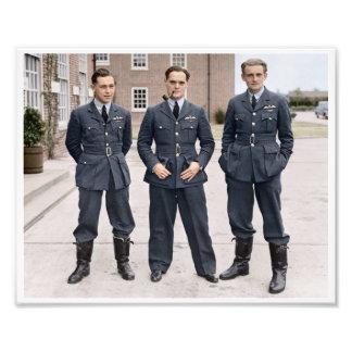 ダグラスBader RAFの空軍中佐 フォトプリント