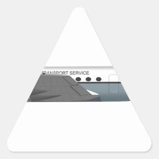 ダグラスC-54 Skymaster 72500 三角形シール