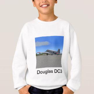 ダグラスDC3の平らなTシャツ スウェットシャツ