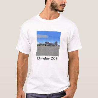 ダグラスDC3の平らなTシャツ Tシャツ