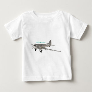 ダグラスDC3ダコタ ベビーTシャツ