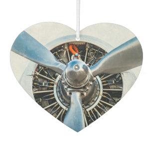 ダグラスDC-3の航空機。 プロペラ カーエアーフレッシュナー