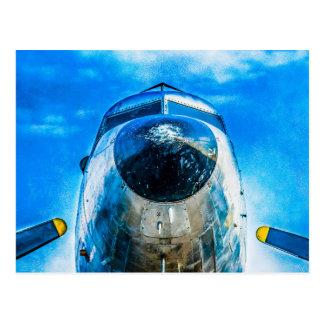 ダグラスDC-3の航空機 ポストカード