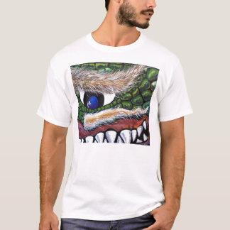 ダグLaRue著笑ったドラゴン Tシャツ