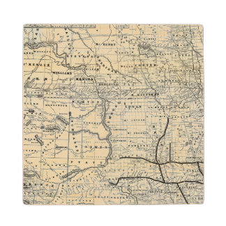 ダコタの正しい地図 ウッドコースター