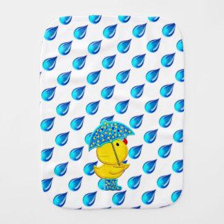 ダッキーの雨の日のおもしろいのベビー用バーブクロス バープクロス