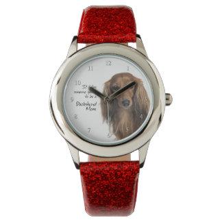 ダックスフントのお母さんの腕時計 腕時計