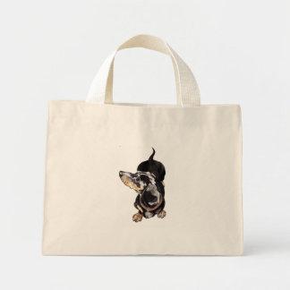 ダックスフントのバッグ ミニトートバッグ
