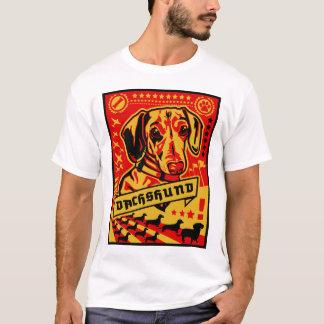 ダックスフントのプロパガンダ Tシャツ