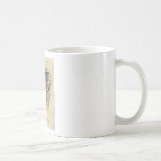 ダックスフントのポートレート コーヒーマグカップ