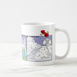 ダックスフントのマグ: 冬 コーヒーマグカップ