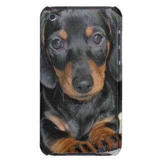 ダックスフントの子犬のipod touchの場合 Case-Mate iPod touch ケース