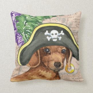 ダックスフントの海賊 クッション