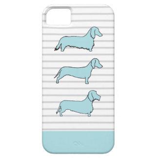 ダックスフントの青い電話箱 iPhone SE/5/5s ケース