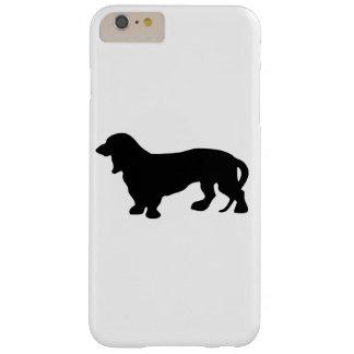 ダックスフント犬の恋人 BARELY THERE iPhone 6 PLUS ケース