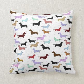 ダックスフント犬の枕 クッション
