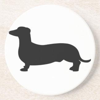 ダックスフント犬 コースター