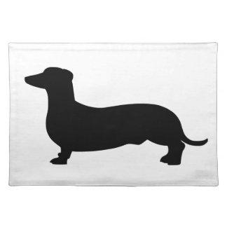 ダックスフント犬 ランチョンマット