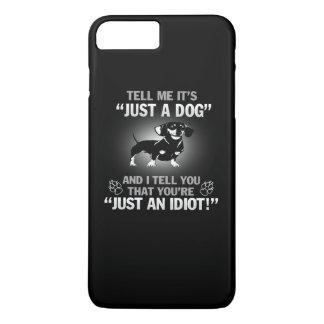 ダックスフント-ちょうど犬! iPhone 8 PLUS/7 PLUSケース