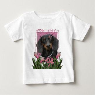 -ダックスフント- Winstonありがとう ベビーTシャツ