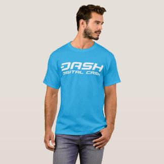 ダッシュのクラシックな水の青のティー Tシャツ
