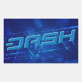 ダッシュのステッカー217 長方形シール