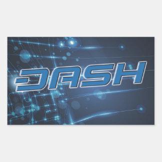 ダッシュのステッカーA211 長方形シール