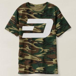 ダッシュのティーの迷彩柄T5 Tシャツ