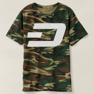 ダッシュのティーの迷彩柄T5b Tシャツ