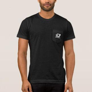 ダッシュのティーの電子マネーT5 Tシャツ