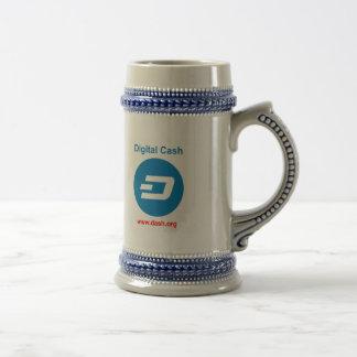 ダッシュのハートのビールのジョッキM2 ビールジョッキ