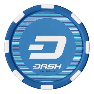 ダッシュのポーカー用のチップ ポーカーチップ