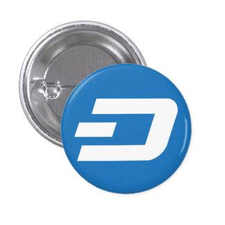 ダッシュの小さいボタン 3.2CM 丸型バッジ