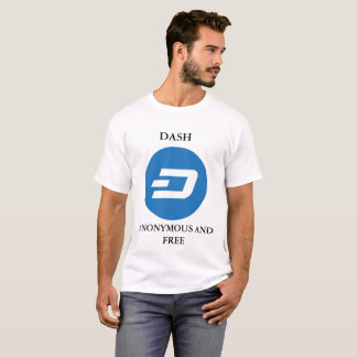 ダッシュの白人のTシャツ Tシャツ