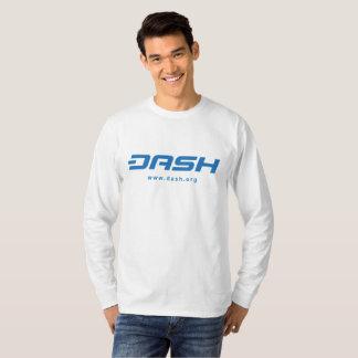 ダッシュの長袖のワイシャツ Tシャツ