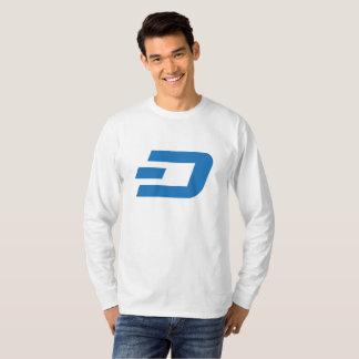 ダッシュの長袖D Tシャツ