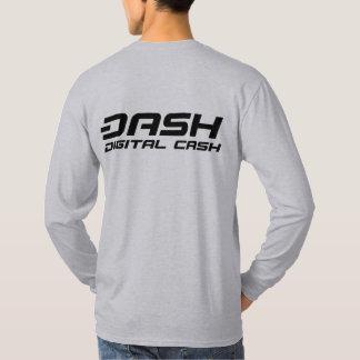 ダッシュの長袖D TDC2b Tシャツ